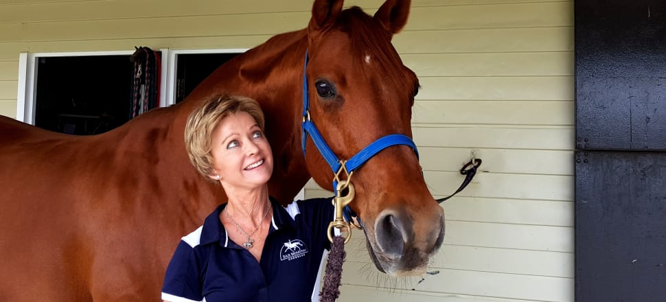 Julie Brougham and her dressage horse Vom Feinsten (aka Steiny) have a unique bond that's taken them to the Olympics and the World Equestrian Games. Photo: Suzanne McFadden.