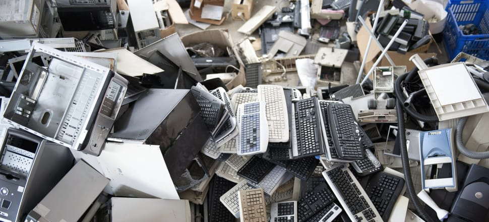 The biotech firm has developed techniques using chemistry and microbiology to recover valuable metals from electronic waste, Photo by Getty Images.