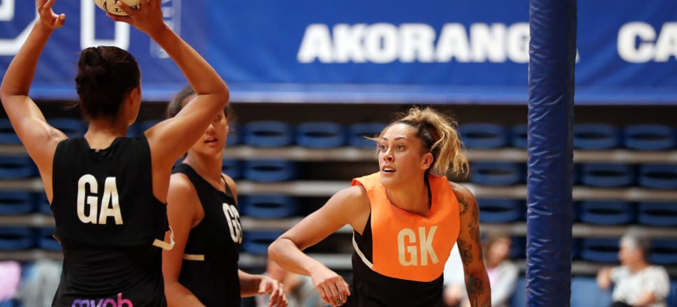 Back home after four years playing in Australia, goal keep Erena Mikaere believes it's not too late, at 30, to finally make the Silver Ferns. Photo: Michael Bradley Photography.
