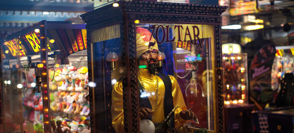 A Zoltar fortune teller machine; Photo: Getty Images