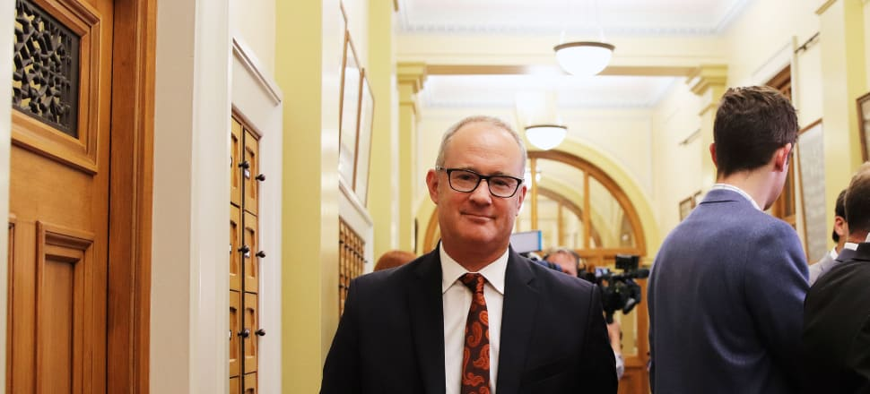 2018 has had its ups and downs for Phil Twyford, Photo: Lynn Grieveson.