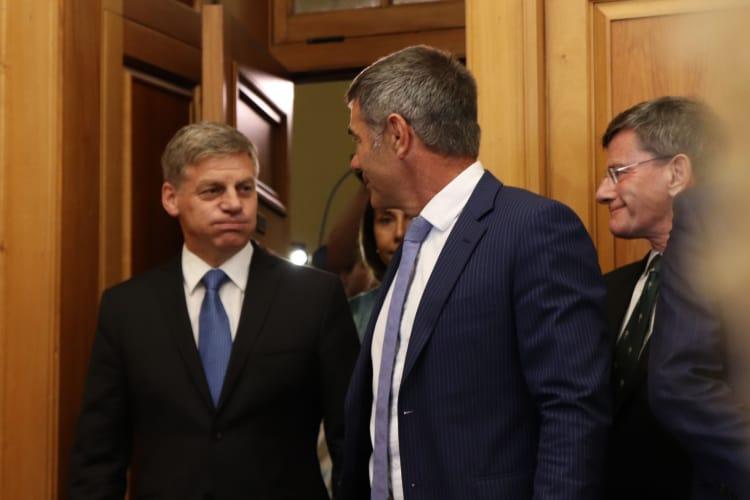 Bill English resigns from NZ parliament