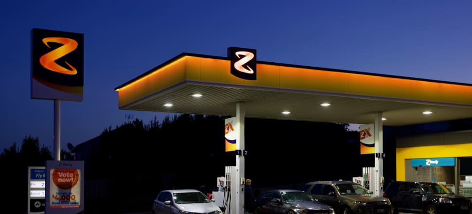Z Energy shares fell as much as 7.7 percent today. Photo: John Sefton