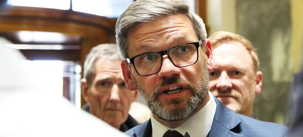 Immigration Minister Iain Lees-Galloway has struggled to answer questions about the controversial case of Karel Sroubek, and an investigation into the case could take as long as three weeks. Photo: Lynn Grieveson