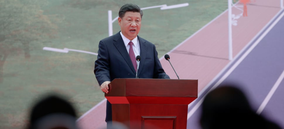 Chinese President Xi Jinping at the APEC summit in PNG Photo: Getty Images