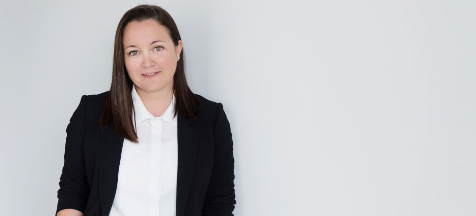 As a sports agent, Kelly Evans has Black Ferns Sevens sensations Sarah Goss and Portia Woodman, and Olympic cycling medallist turned Team NZ cyclor Simon van Velthooven, among her clients. Photo: supplied.