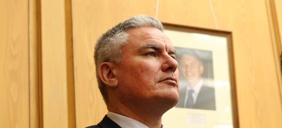 Corrections Minister Kelvin Davis said the prison system crisis had been averted, with a 7.3 percent drop in prisoner numbers in six months. Photo: Lynn Grieveson