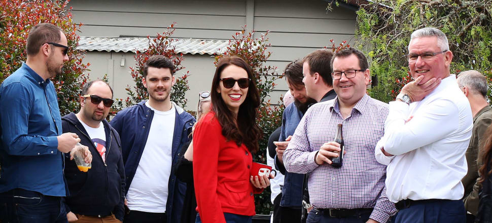 The morning after the election there was time for a BBQ at Jacinda Ardern's home: but what were the proceeding weeks of campaigning like for MPs from the various parties? Photo: Lynn Grieveson
