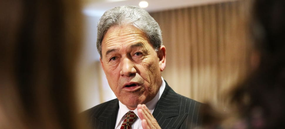 Winston Peters says he still believes someone needs to investigate the nature of foreign influence in New Zealand politics but that person isn't him. Photo: Lynn Grieveson