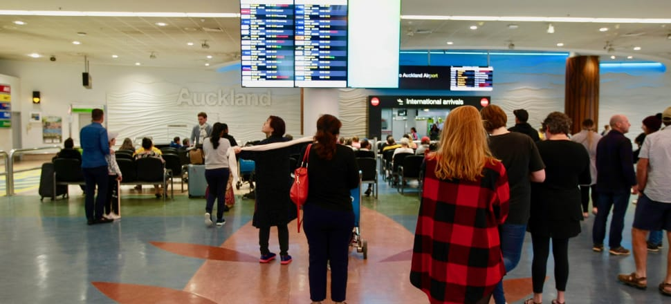 Auckland Airport struggles to cope at peak times. Photo: John Sefton