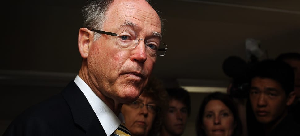 Don Brash was banned from speaking at Massey University in August, igniting a simmering discussion about free speech in New Zealand. File photo: Getty image