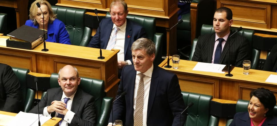 'If National goes into Opposition, we will see a Monster Opposition – 56 seats – think what that will look like and even sound like.' Photo: Lynn Grieveson