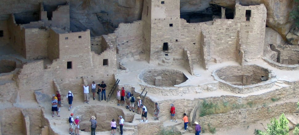 Cliff Palace in Mesa Verde National Park in Colorado. Researchers say they have new evidence that ancestral Pueblo people who disappeared from the Mesa Verde cliff dwellings of southwestern Colorado 700 years ago migrated to what is now New Mexico. Photo: AP