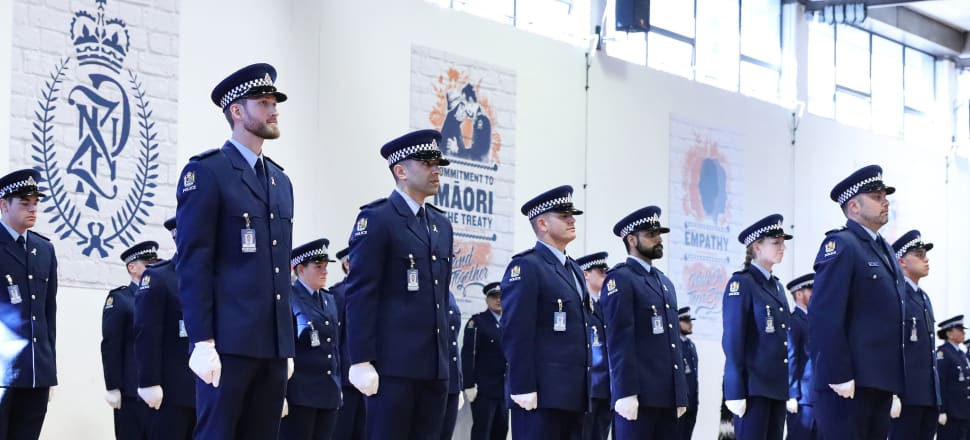 The Police College will soon be pumping out more graduates to swell the number of commissioned police officers. Photo: Lynn Grieveson