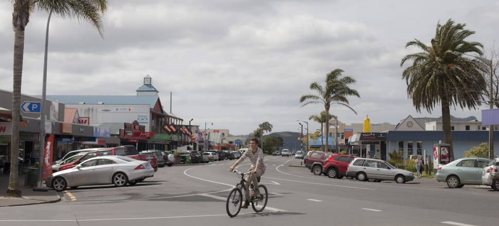 A $6.5-million-dollar refurbishment of Whitianga Town Centre is being challenged on the basis that the regional council's simulator shows that much of Whitianga Town Centre may be flooded in the future. Photo: Joe Dowling