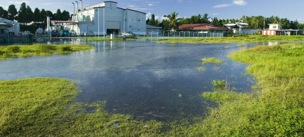 Tuvalu, which is becoming increasingly threatened by sea-level rise, is home to only 11,000 people. Photo: Getty Images