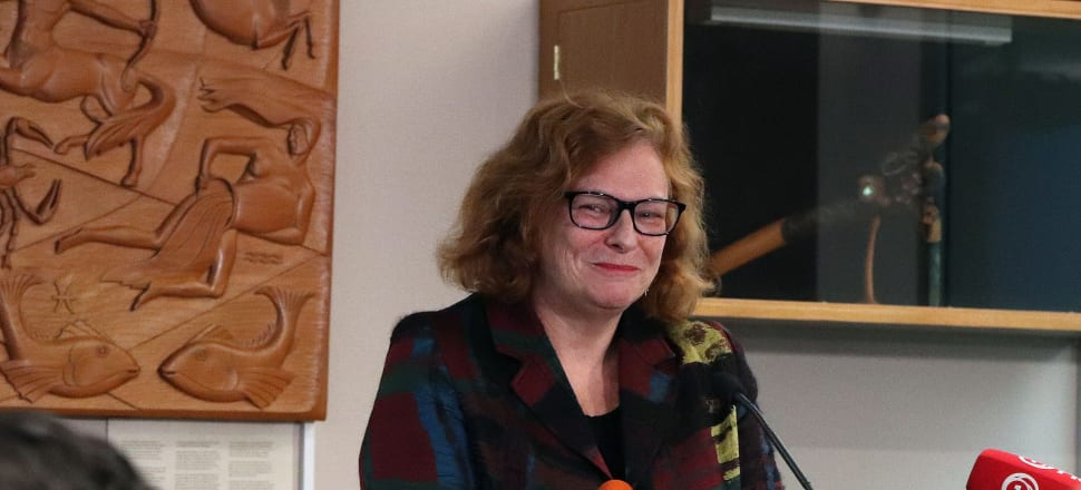 NZ On Air chief executive Jane Wrightson says New Zealand's twin pillar approach to public media has more merit than some may think. Photo: Lynn Grieveson