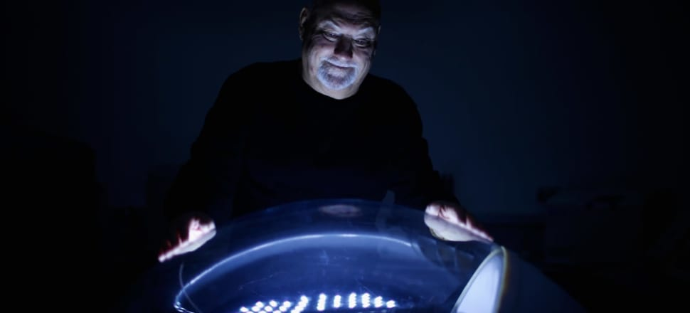 Sir Ray Avery hopes his LifePods will one day contain real babies, but the journey so far has been troubled. Photo: Getty Images