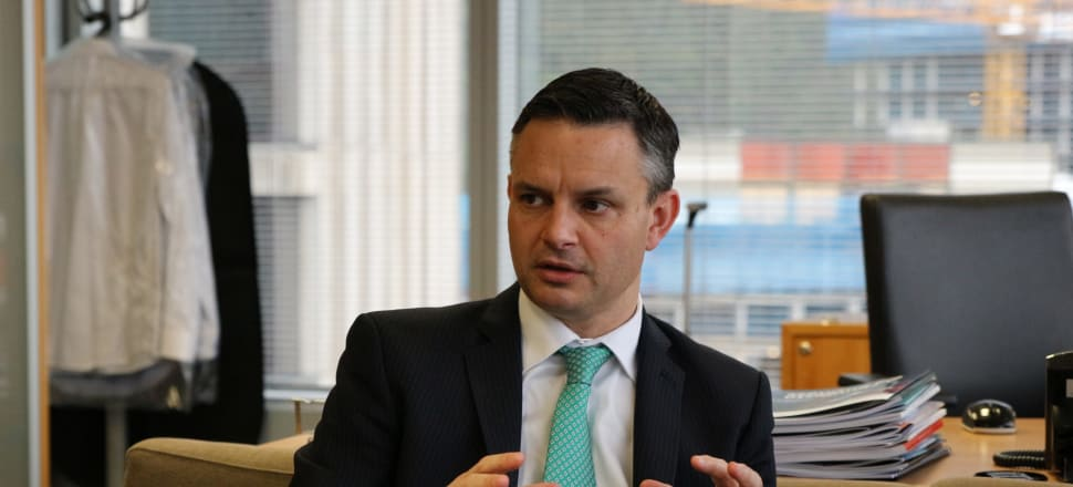 "Climate Change Minister James Shaw said the formal release of the coastal hazards guidance for councils was ""better late than never"". File photo: Shane Cowlishaw"