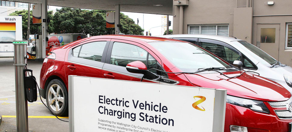The number of electric vehicles is ticking up slowly, but Government departments are not keen due to the high cost of the cars and charging infrastructure. Photo: Lynn Grieveson