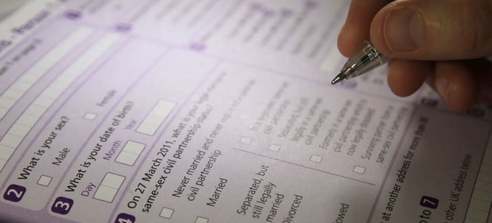A digital-first $121 million project meant 80 percent of people would get online codes instead of paper census forms. Photo: Getty Images
