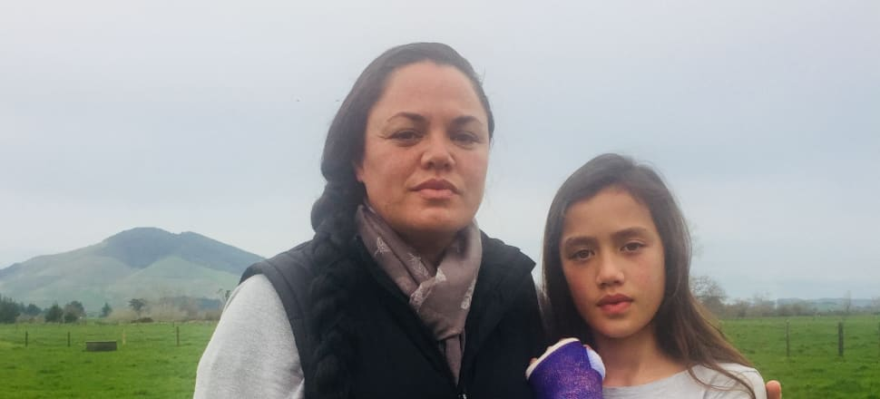 Brooke Hughes with her 11-year-old daughter Maea. Photo: Supplied