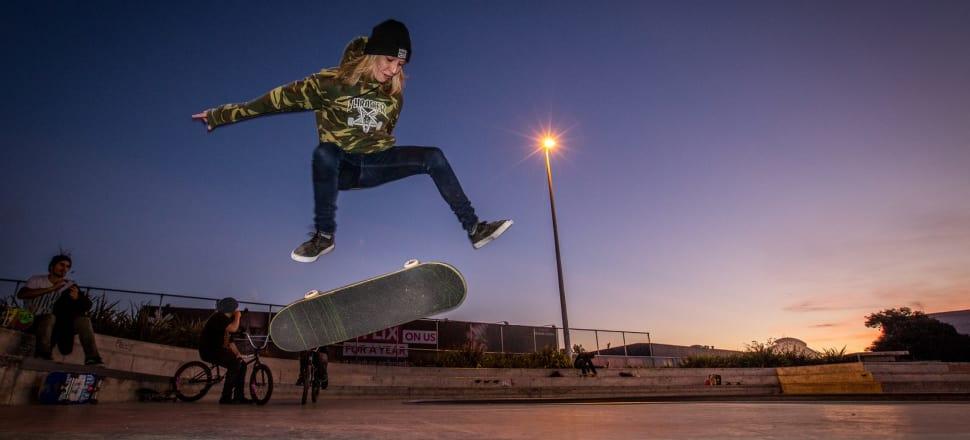 History making moment for NZ skateboarding