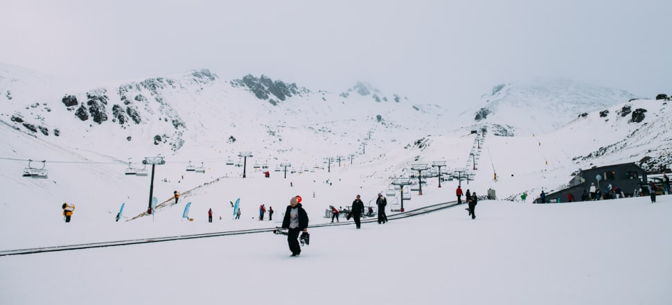 The Remarkables skifield has been open since 1985. Photo: Dave See