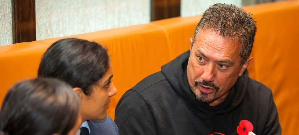 Mike King has created an environment where people felt safe to ask terribly raw questions, writes Emma Espiner. File photo: Mike King