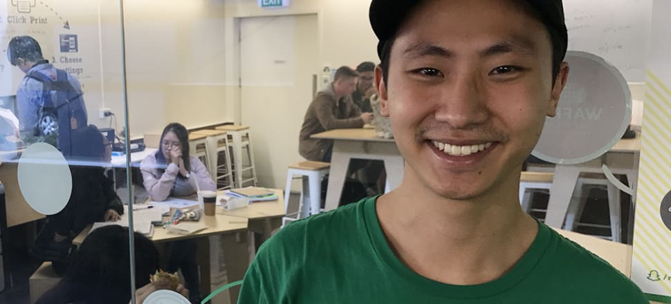 Niesh CEO James Koo is watching his friends take corporate jobs while he does management his own way. Photo: Troy Rawhiti-Forbes