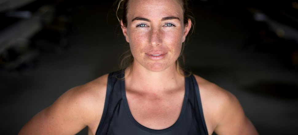 Olivia Loe refused to be written off as an elite rower despite being perceived as too small. Photo: Juliette Drysdale