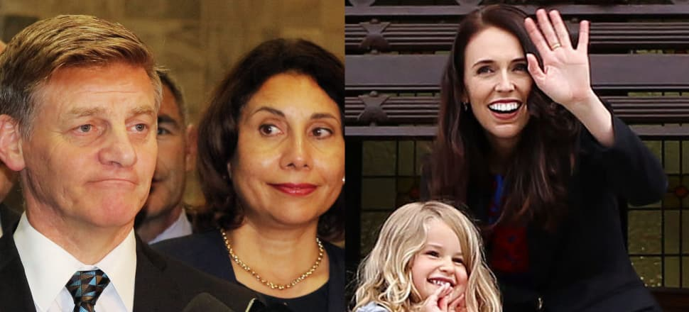 A new book with insight from party leaders, including Bill English and Jacinda Ardern, reveals what went on in 2017 to make it such an extraordinary election. Photos: Lynn Grieveson