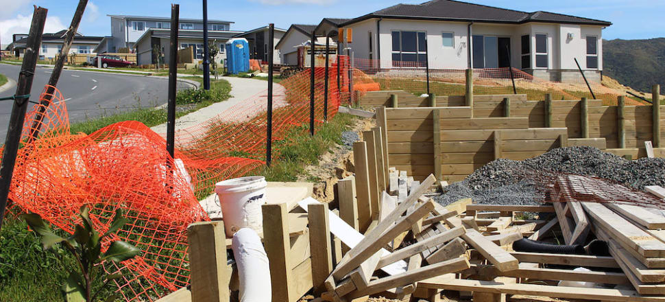 Our house building rate has slowed to the extent that it's estimated now New Zealand is half a million homes short of where we should be. Photo: Lynn Grieveson
