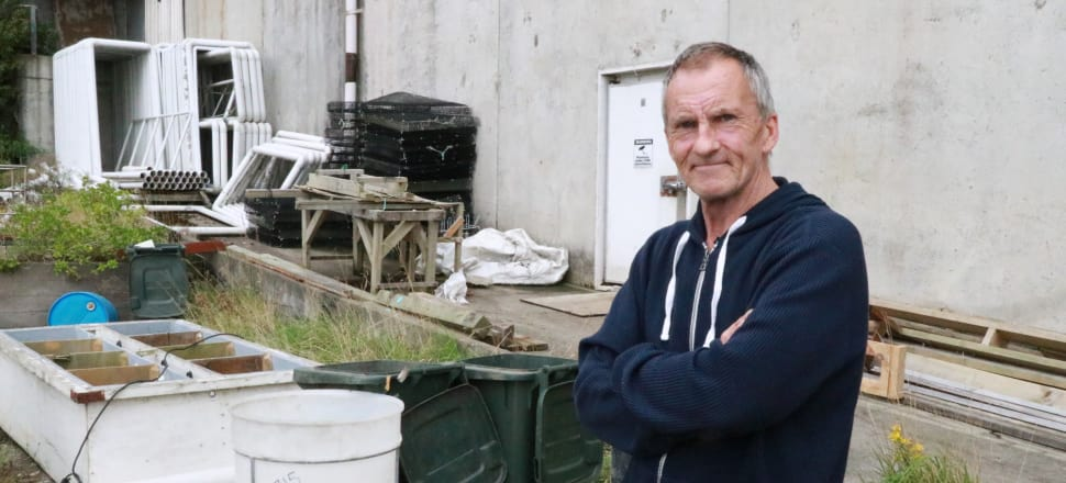 Former Bluff oyster farmer Rodney Clark has been financially ruined by the discovery of an oyster-killing parasite on Stewart Island. Photo: David Williams