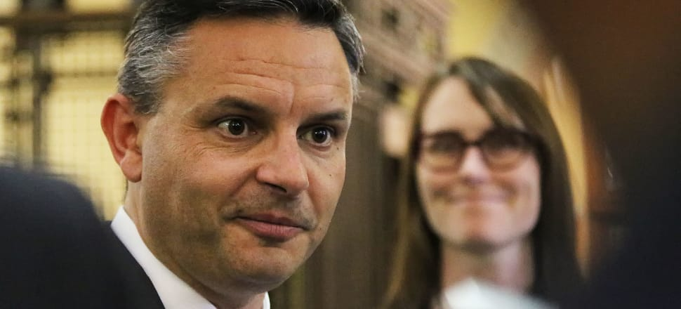 The Greens' James Shaw says the ETS is an example of public policy failure. Photo: Lynn Grieveson