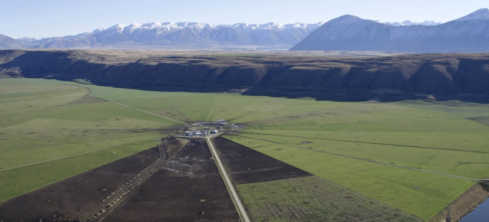 The Mackenzie basin in 2013. Photo: Peter Scott
