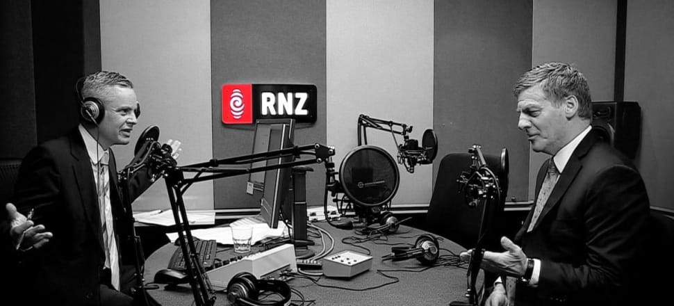 Guyon Espiner, as a Pākēhā man with a powerful role in the New Zealand media, has a position of extraordinary privilege from which to challenge the status quo, writes Emma Espiner. Photo: Supplied by RNZ