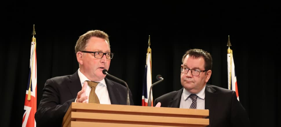 New Reserve Bank Governor Adrian Orr and Finance Minister Grant Robertson calmed economic and financial nerves with their comments about monetary policy reforms. Photo by Lynn Grieveson.
