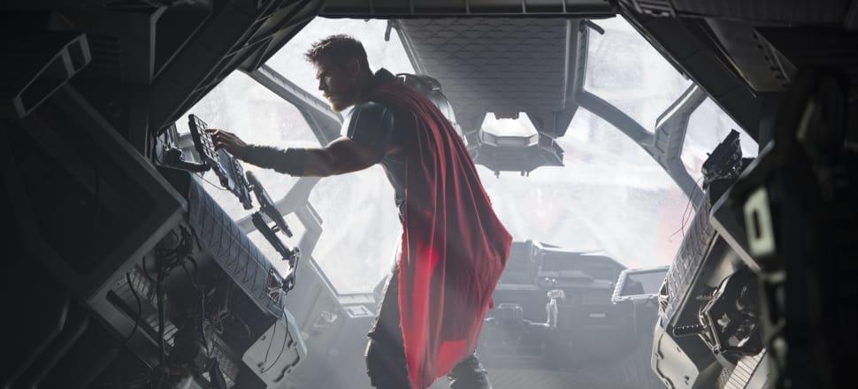 Thor (Chris Hemsworth) is less po-faced, more hokey pokey in Thor: Ragnarok. Photo: Marvel Studios