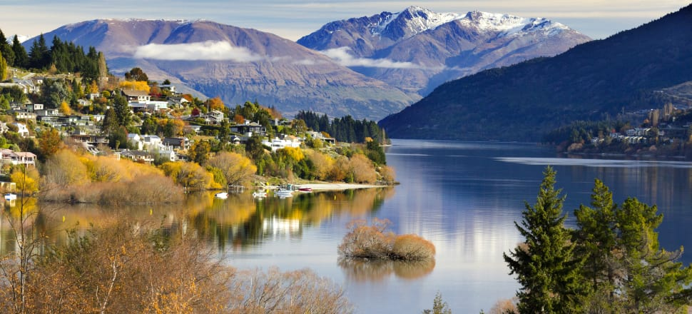 Queenstown is a scenic resort town in Otago Province of New Zealand's South Island. Photo: Getty Images
