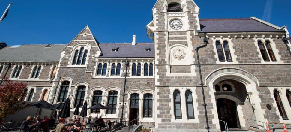 Christchurch Arts Centre's Clock Tower building, constructed in 1877. The Gothic Revival buildings suffered major damage in the quakes of 2010 and 2011. Photo: Supplied