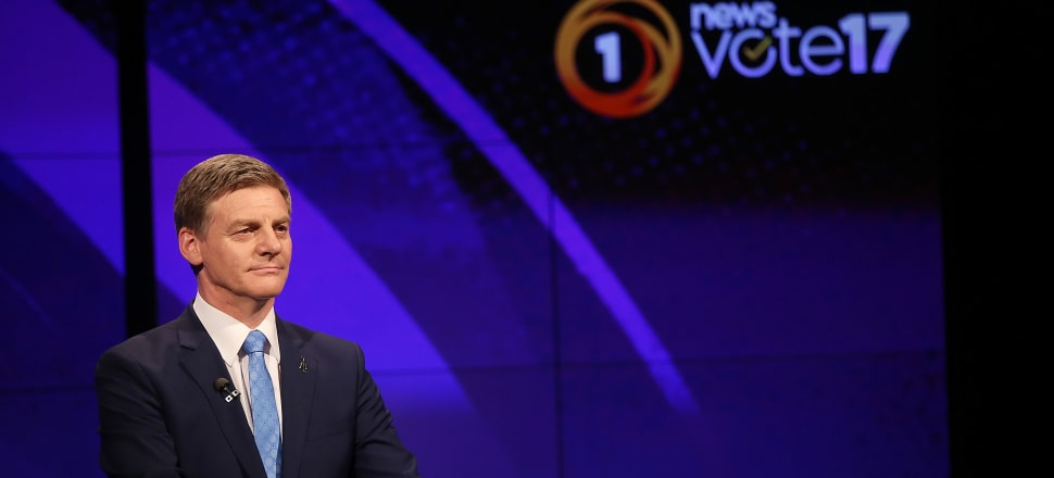 Bill English rejected claim by a JB Were economist, Bernard Doyle, of a productivity recession in the TVNZ debate on Thursday. But a close look at that rejection shows English is wrong and Doyle is right. Photo by Getty Images.