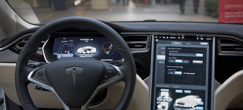 A Tesla dashboard. Deloitte has created ways of gathering conduct analytics into a dashboard that a bank or insurer can use to monitor issues around fairness. Photo: Getty Images
