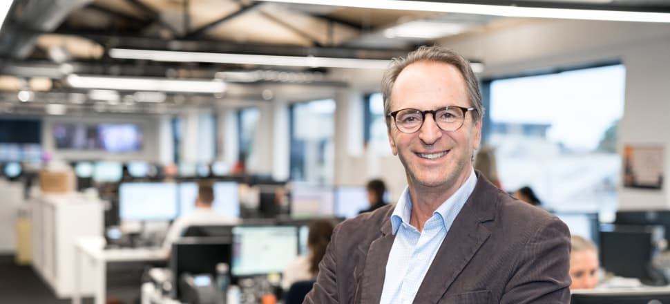 """""""I'm not against giving RNZ some more money to continue to develop the platforms it is doing really well on – radio and online – it does a great job. But another FTA TV channel doesn't make sense,"""" says Mediaworks CEO Michael Anderson. Photo: Supplied by Mediaworks"""