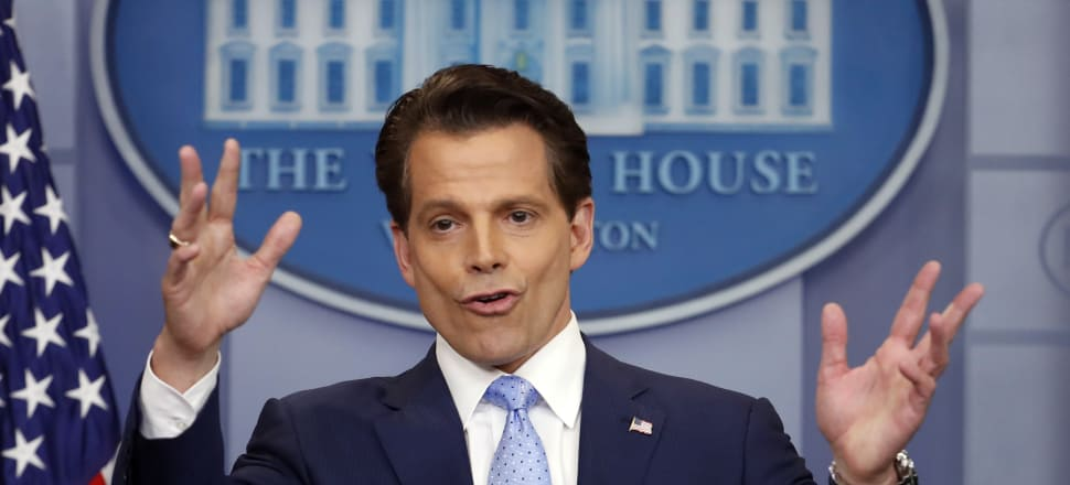 Anthony Scaramucci leaves behind the post vacated by Sean Spicer less than a fortnight ago. Photo: AP