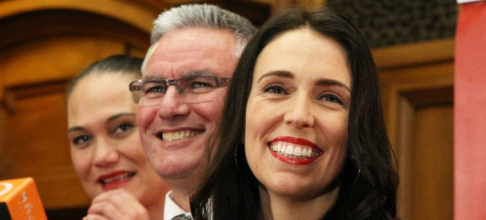 Jacinda Ardern and her deputy Kelvin Davis are a Labour leadership duo not cut from the normal template. Photo: Lynn Grieveson