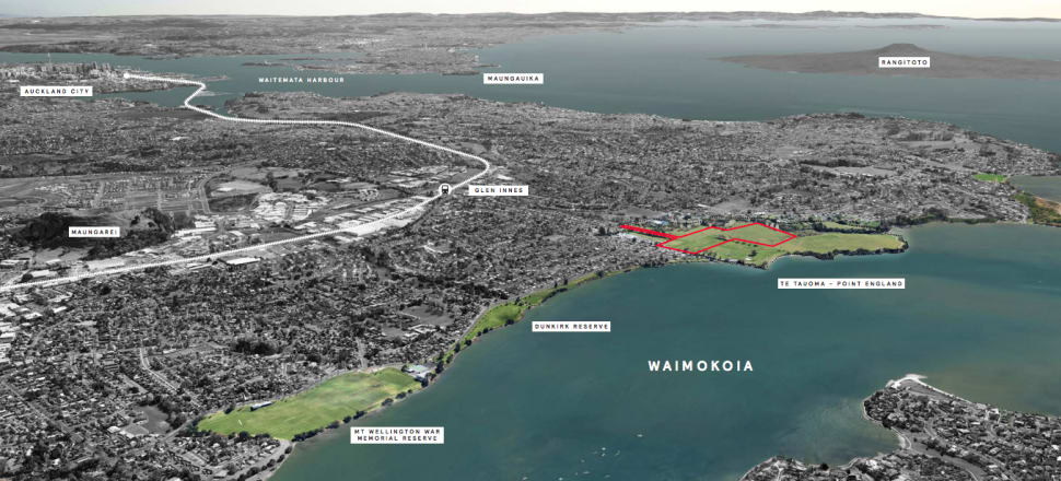 Point England is set to change, and the community has little hope of preventing that. Photo: Pt England Concept Plan