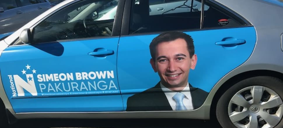 Simeon Brown had to come through a field of five candidates wanting the Pakuranga seat. Photo: Supplied