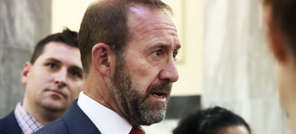"""Justice Minister Andrew Little says it would be a """"big step"""" to drop Russell McVeagh from the Government work panel. Photo: Lynn Grieveson"""