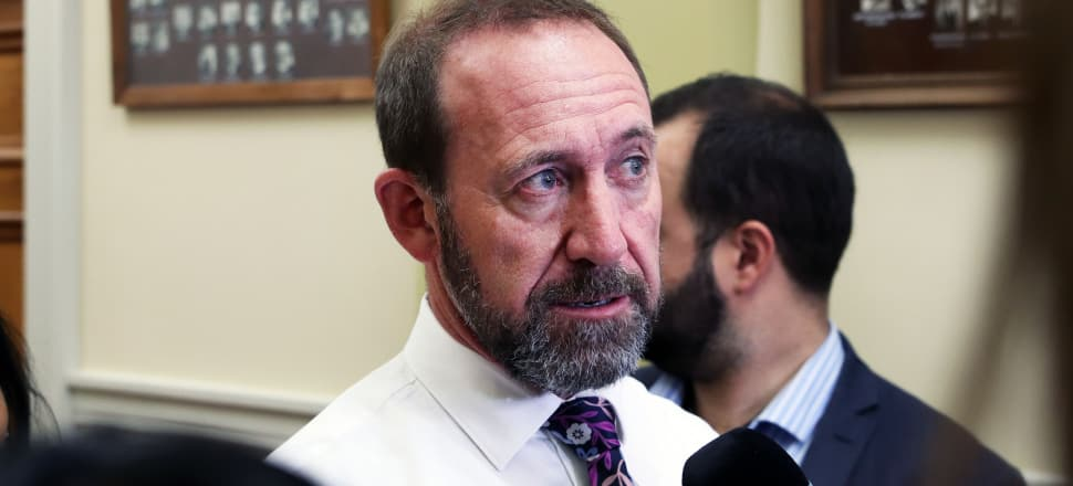 Justice Minister Andrew Little has withdrawn his proposal to Cabinet that the Three Strikes law be repealed. Photo: Lynn Grieveson